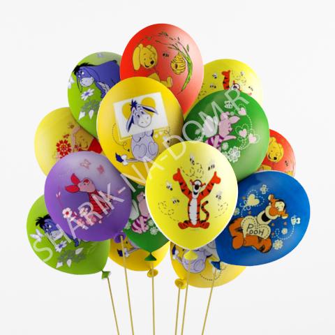 """Детям Воздушные шары """"Винни Пух и друзья"""" Шары_Винни_Пух.jpg"""