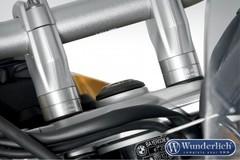 Проставки руля 20 мм BMW F650/700/800GS/800GSA серебро