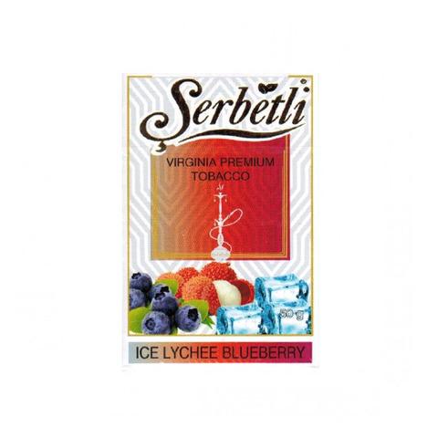 Табак Serbetli Ice Lychee Blueberry 50 г