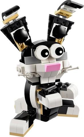 LEGO Creator: Пушистые зверюшки 31021 — Furry Creatures — Лего Креатор Творец Создатель