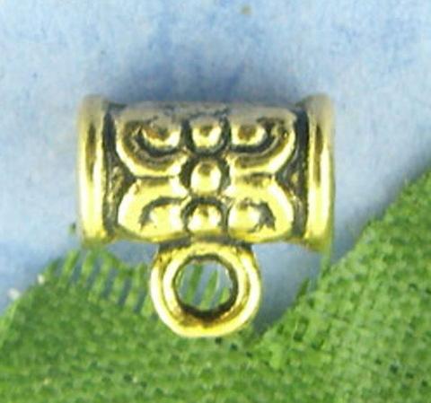 Бейл 7х4 мм (цвет - античное золото) (B00997A1)