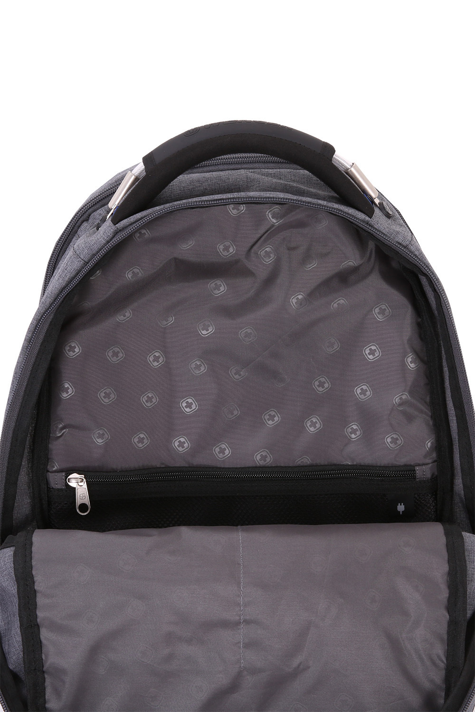 Рюкзак WENGER ScanSmart, цвет серый, отделение для ноутбука 15
