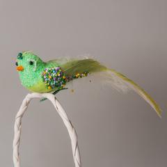 Птица SL2Y 0048 зеленая