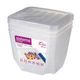Набор органайзеров Storage 1,3 л (3 шт.), артикул 70013, производитель - Sistema