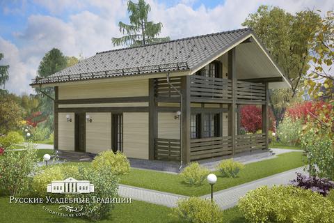 """Проект двухэтажного дома """"Куртуа"""" 150 кв.м."""