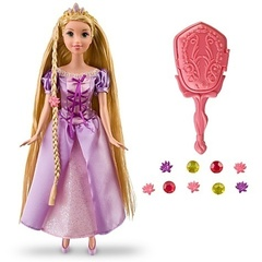 Disney Tangled Grow & Style Rapunzel Doll