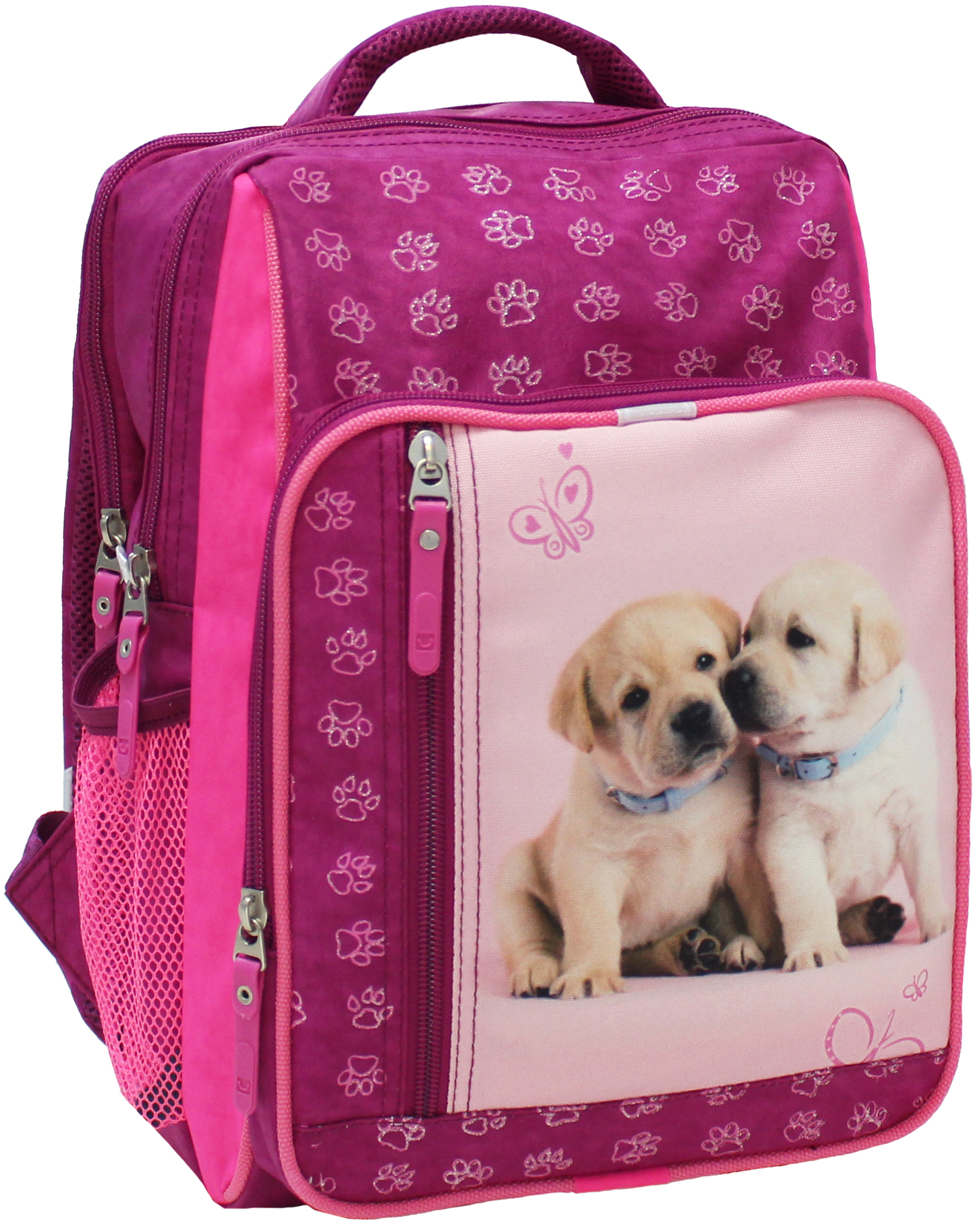 Школьные рюкзаки Рюкзак школьный Bagland Школьник 8 л. 143 малина 118 д (00112702) IMG_5236.JPG