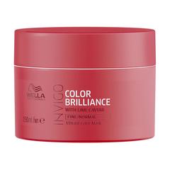 Wella Invigo Color Brilliance Маска-уход для защиты цвета окрашенных нормальных и тонких волос 150мл