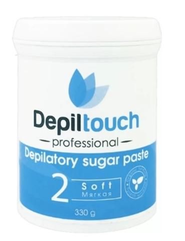 Сахарная паста для депиляции МЯГКАЯ 330г (Depiltouch)