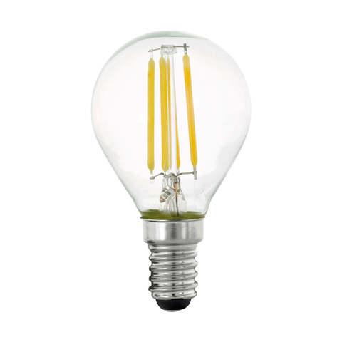 Лампа  LED филаментная 3 шага диммирования Eglo STEP DIMMING LM-LED-E14 4W 470Lm 2700K P45 11754