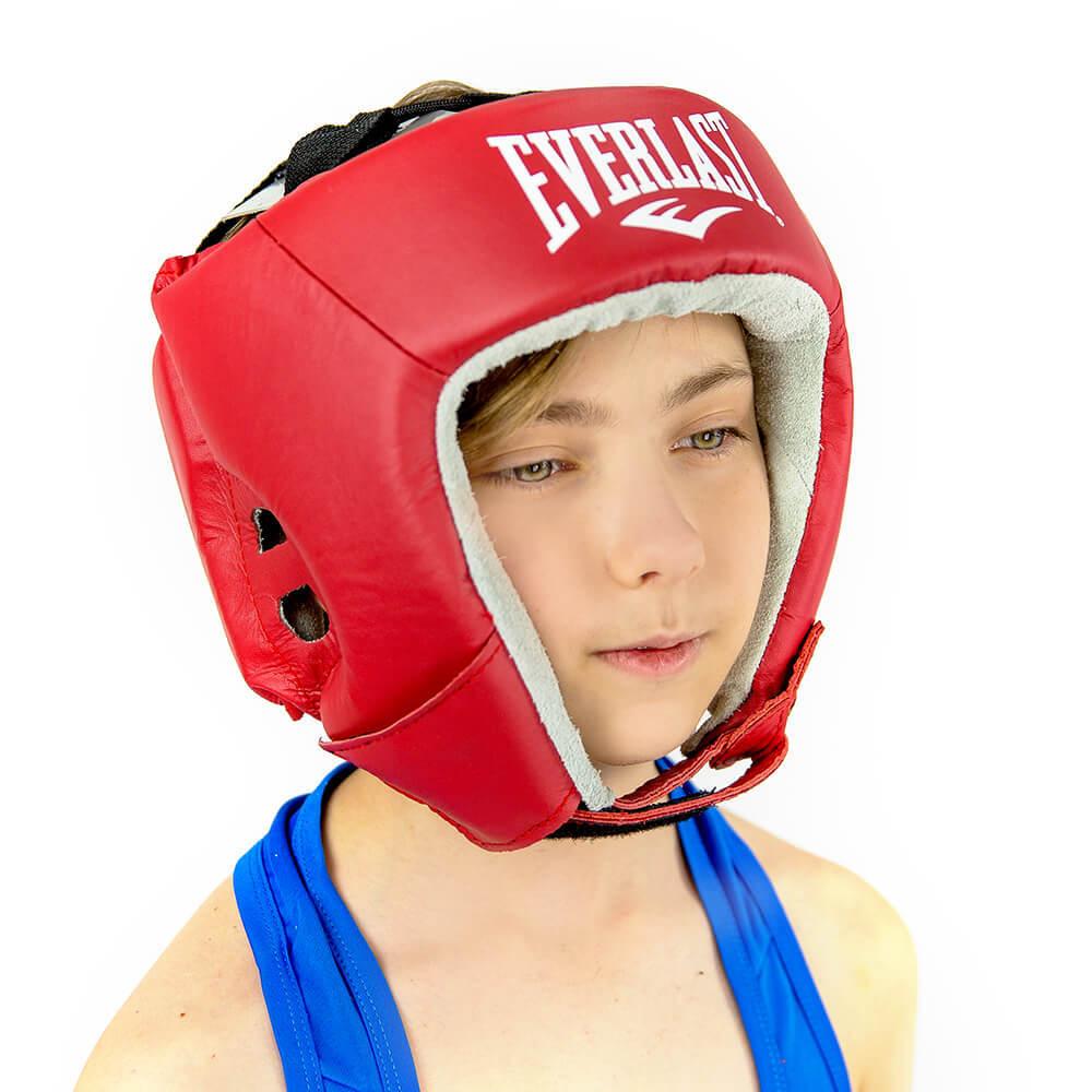 Шлемы Шлем открытый кожаный USA Boxing Everlast 5L9A00355L9A0035_1.jpg