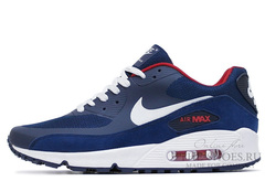 Кроссовки Мужские Nike Air Max 90 HYP Premium Blue White Red
