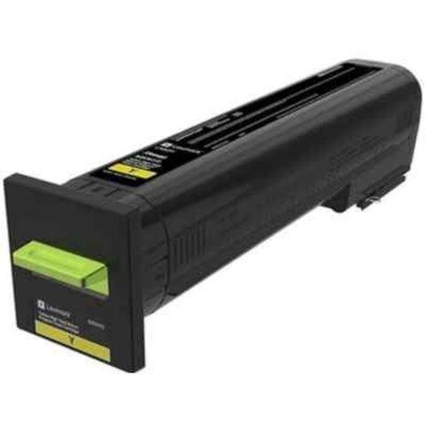 Картридж для принтеров Lexmark CS820/CX820/CX825/CX860 голубой (cyan). Ресурс 8000 стр (72K50C0)