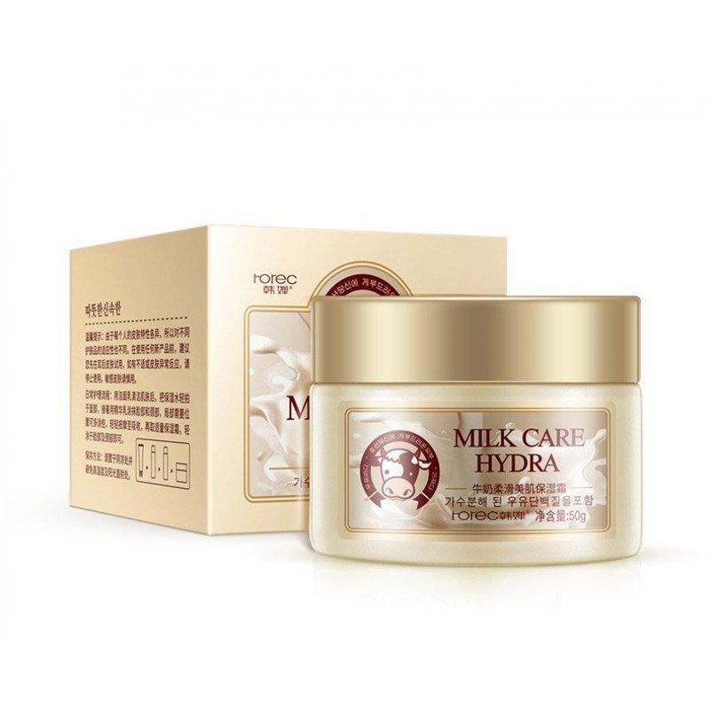 Rorec Крем для лица с молочным протеином Milk Care Hydra, 50 г