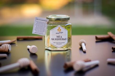 Мед натуральный акациевый, 250 грамм