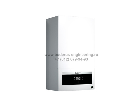 Buderus Logamax U072-12K Газовый Атмосферный котел Белый
