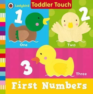 Kitab Ladybird Toddler Touch: First Numbers | Penguin Books Ltd