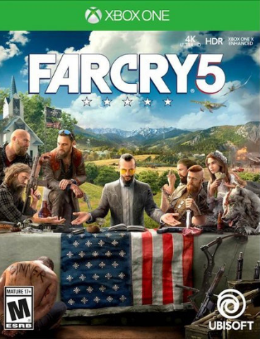 Xbox One Far Cry 5 (русская версия)