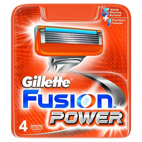 Кассеты Gillette Fusion Power 4 шт