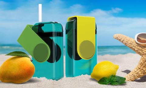 Мини-бокс для сока Asobu Juicy box (0,29 литра), зеленый*