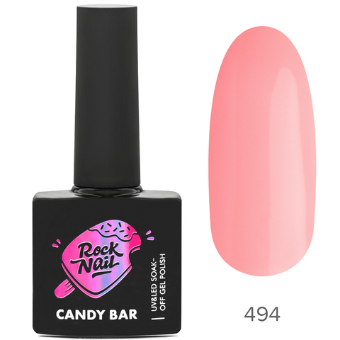 Гель-лак RockNail Candy Вar 494 Pie At The Party (Пирог на вечеринке)