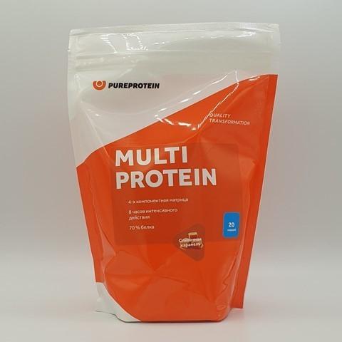 Мультикомпонентный протеин вкус Сливочная карамель PUREPROTEIN, 600 гр