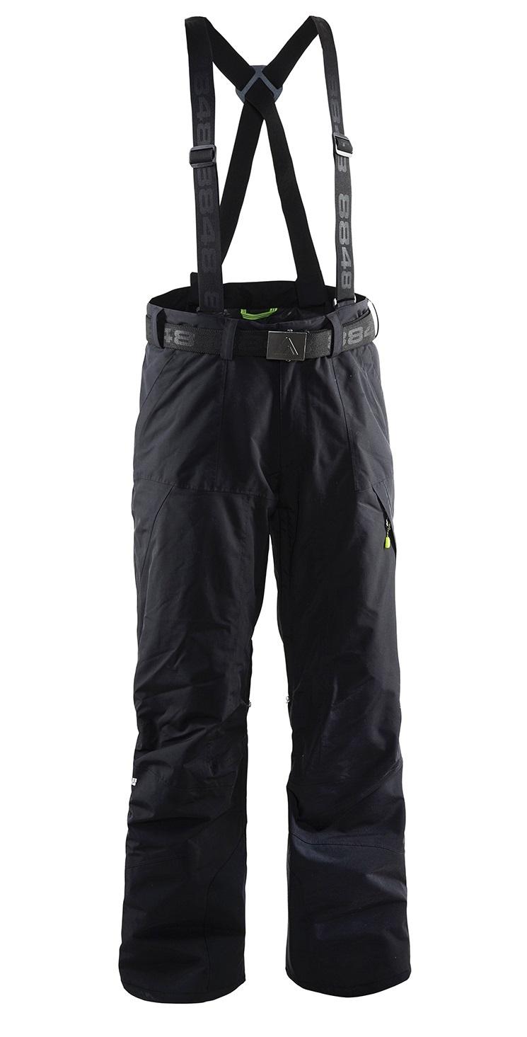 Мужские горнолыжные брюки 8848 Altitude Base 67 (702708) с подтяжками five-sport.ru