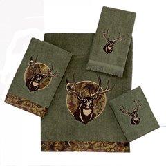 Полотенце 28х46 Avanti Camo Deer зеленое