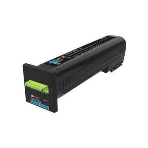 Картридж для принтеров Lexmark CS820/CX820/CX825/CX860 голубой (cyan). Ресурс 8000 стр (72K50CE)