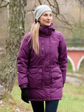 Bergans пуховик 5387 Granitt Down Lady Parka Plum