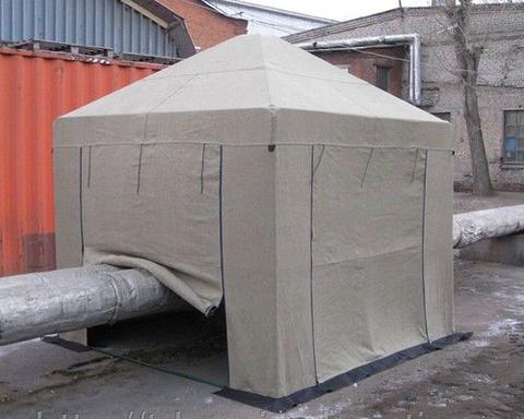 Палатка сварщика БРЕЗЕНТОВАЯ 3 х 3 метра