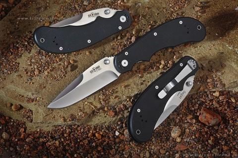 Складной нож Sagat D2 Satin