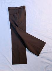 Классические утепленные брюки для мальчика (темно-синие)