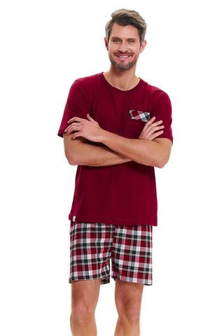 Мужская пижама PMB.9471 Dark Red Doctor Nap