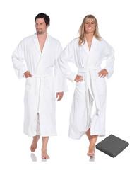 Элитный халат махровый Weekend серый от Vossen