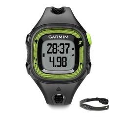 Спортивные часы Garmin Forerunner 15 Small Черно-зеленый (с датчиком) 010-01241-60