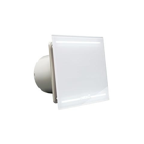 Вентилятор накладной Cata E 100 GL Light с обратным клапаном (таймер, LED подсветка)