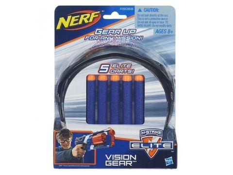 Hasbro: Очки агента Nerf + 5 патронов A5068