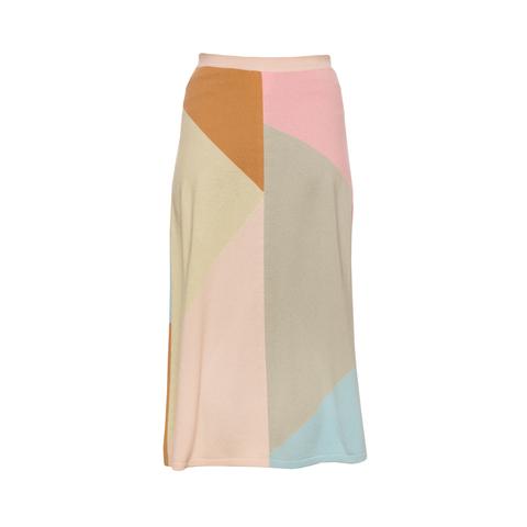 Красивая юбка из тонкого кашемира от Chanel, 40 размер.