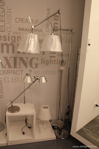 replica  Artemide Tolomeo Mega floor lamp  by Michele De Lucchi