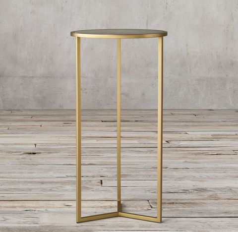 Graydon Shagreen Y-Base Cocktail Side Table