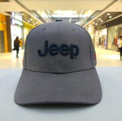 Кепка Jeep серая (Бейсболка джип)