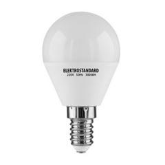 Лампа светодиодная E14 5W 4200K шар матовый 4690389054839