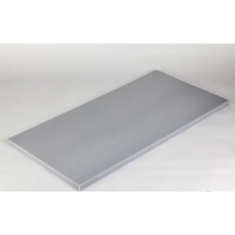 негорючая  акустическая панель ECHOTON FIREPROOF 100x50x3cm  из материала  BASOTECT серый