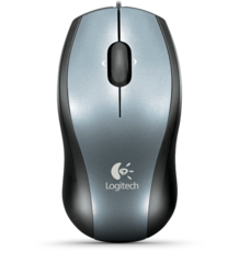 LOGITECH V100 Optical Mouse for Notebooks