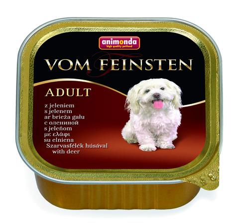 Консервы Animonda Vom Feinsten Adult с олениной для взрослых собак