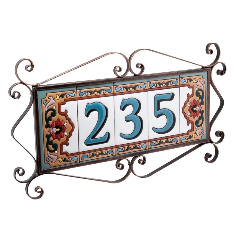 Рамка для трехзначного номера дома