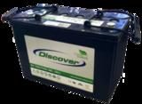 Тяговый аккумулятор Discover EV512G-080 ( 12V 90Ah / 12В 90Ач ) - фотография