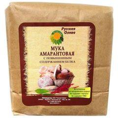 Русская олива мука амарантовая с повышенным содержанием белка 1000 г