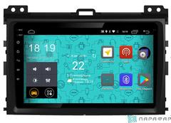Штатная магнитола для Toyota Land Cruiser Prado 120 02-09 на Android 6.0 Parafar PF456Lite